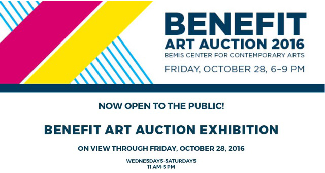 Bemis Center - Benefit Art Auction - 2016