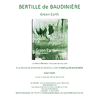 Signature du livre Green-Earth