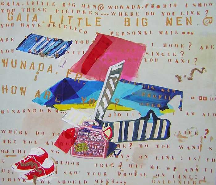 Painting by letters - 2004